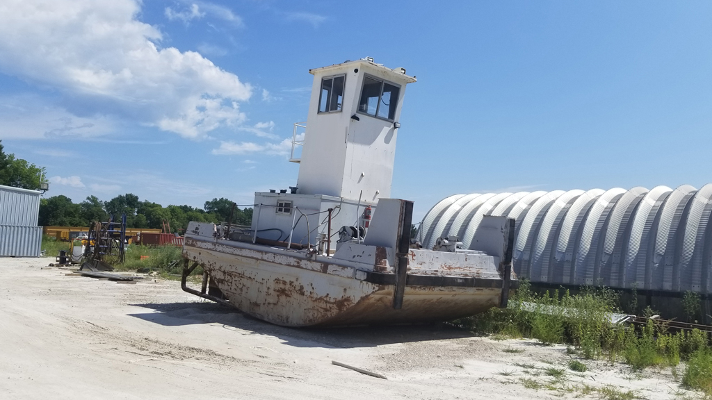 600 Inland Truckable Push Boat For Sale