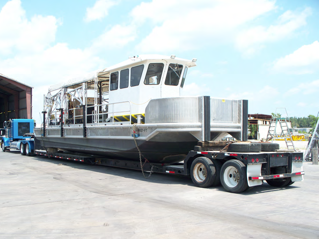 47' 600HP Inland/Near Coastal Seismic Gun Boat