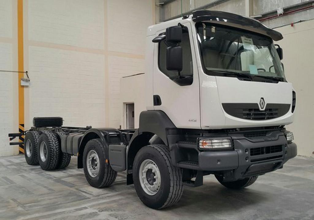 2014 Renault Kerax 440.42 8X4 HD LE 70